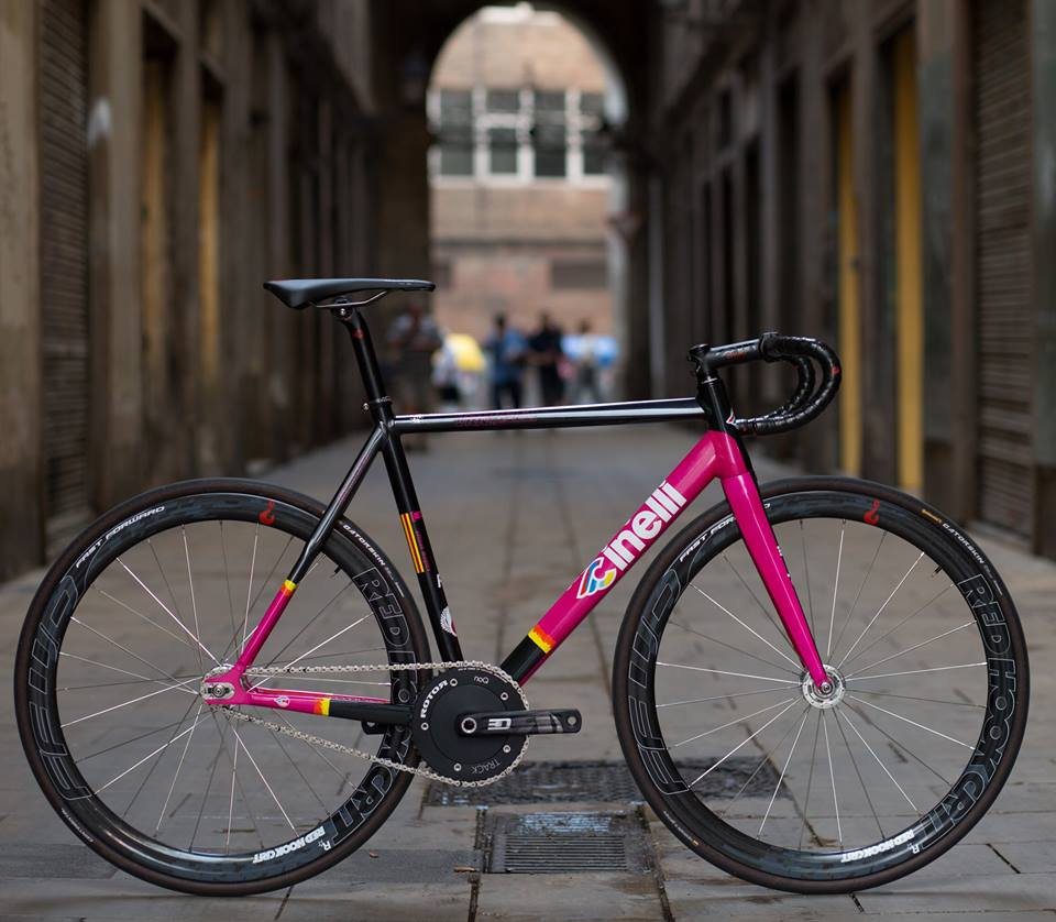 The official CINELLI Vigorelli prize bike for the Red Hook Criterium ...