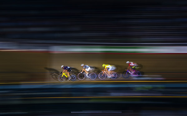 LONDON, ENGLAND - OCTOBER 21:  Anita Stenberg of Norway competes in the 10km Ominium during day four of the London Six Day Race at the Lee Valley Velopark on October 21, 2015 in London, England.  (Photo by Justin Setterfield/Getty Images) *** Local Caption *** Anita Stenberg