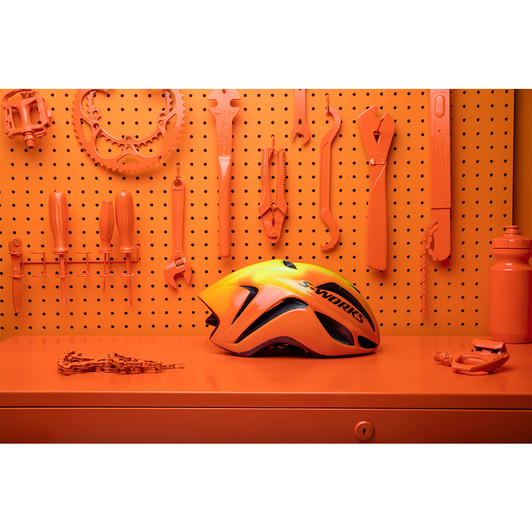 Specialized-S-Works-Evade-Torch-Edition-Road-Helmet-Changing-Colour